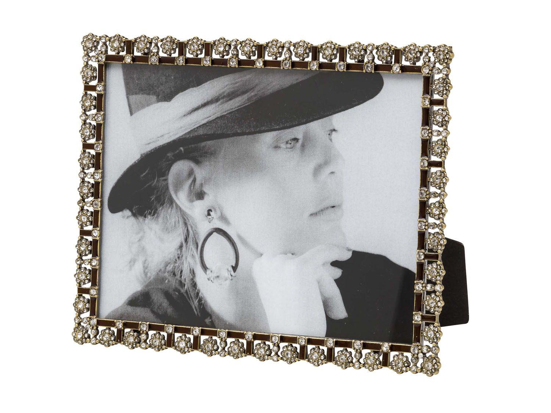 Fotorahmen im antik Stil hochformat querformat Hartzinn Emaille Foto ...