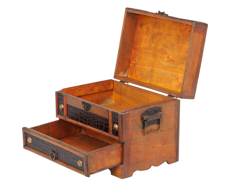 schmuckk stchen truhe holz schmuckschatulle schatztruhe 22cm antik stil ebay. Black Bedroom Furniture Sets. Home Design Ideas