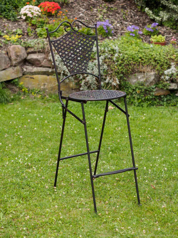 Mobili da giardino in ferro tavolo mobile bar con due - Mobili da giardino in ferro ...