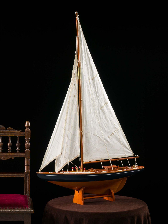 maquette de bateau voilier 112 cm ebay. Black Bedroom Furniture Sets. Home Design Ideas