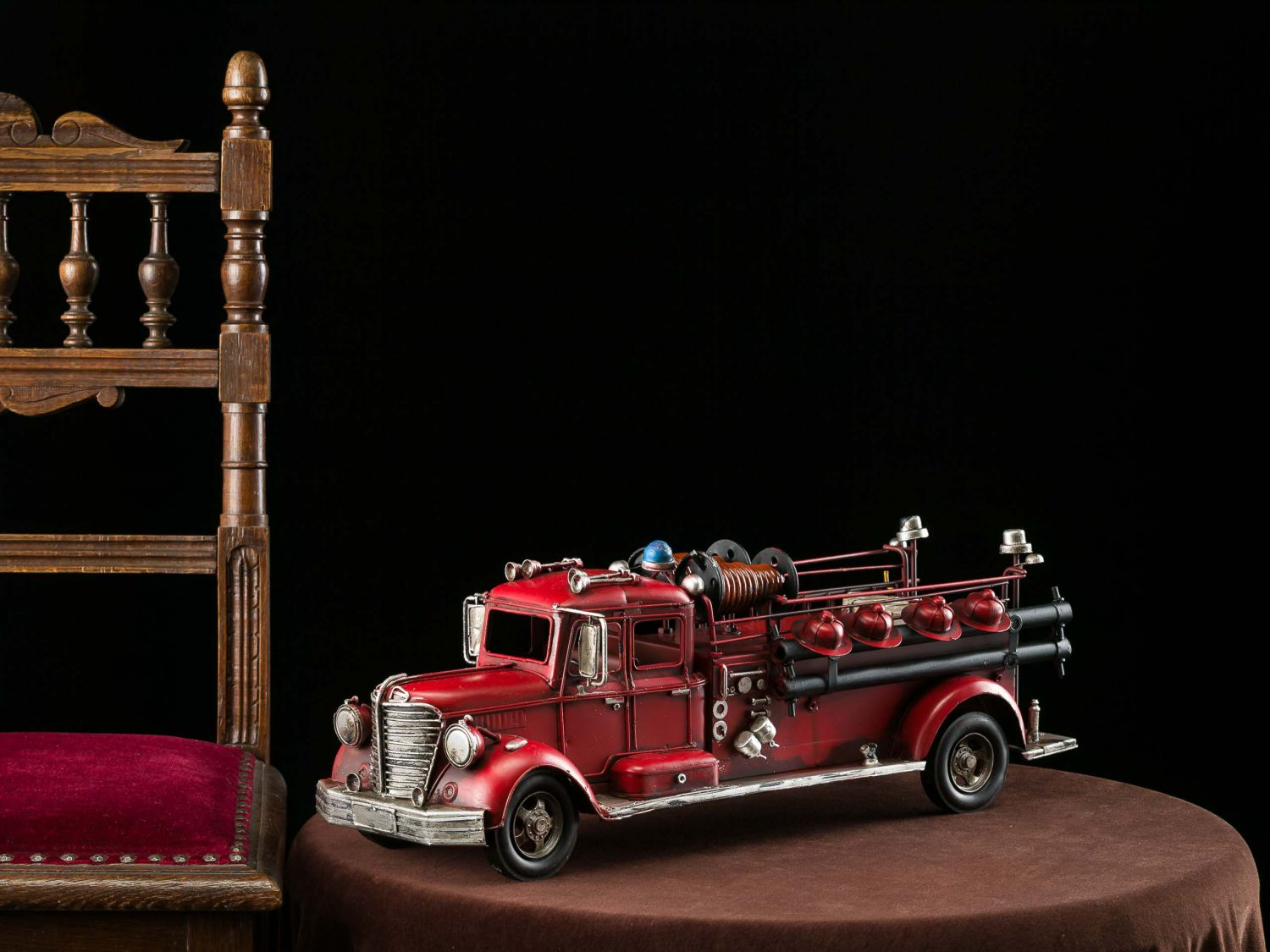 camions mod le incendie 50cm en plaque sapeurs pompiers voiture ebay. Black Bedroom Furniture Sets. Home Design Ideas