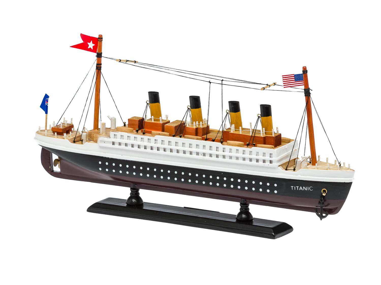 Modellschiff Schiffsmodel Boot aus Holz Oceanic Ship DIY für Haus Dekoration