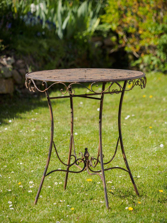 Guarnizione ferrosi mobili in metallo mobili da giardino marrone stile antico ebay - Ebay mobili da giardino ...