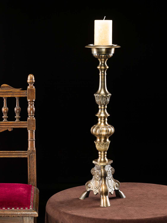 grand bougeoir chandelier d 39 glise 60cm lustre style. Black Bedroom Furniture Sets. Home Design Ideas