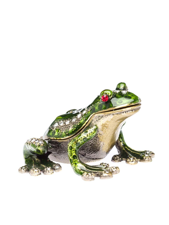 crin bijoux bo te pilules forme de grenouille ebay. Black Bedroom Furniture Sets. Home Design Ideas