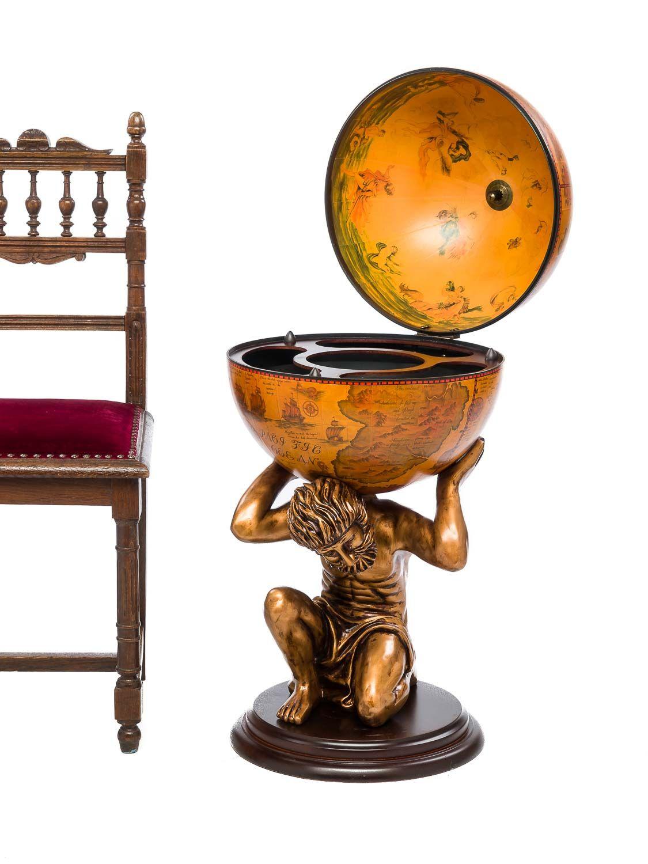 globusbar globus bar hausbar minibar servierwagen atlas. Black Bedroom Furniture Sets. Home Design Ideas
