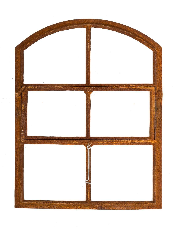 Fen tre ornementale de grange style antique fonte rouille for Fenetre 70 x 50