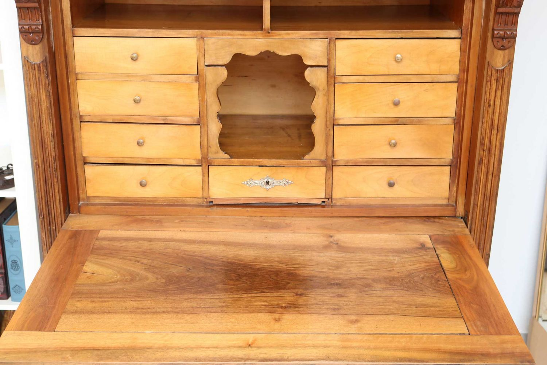 antiker sekret r klappsekret r schreibtisch antik ebay. Black Bedroom Furniture Sets. Home Design Ideas