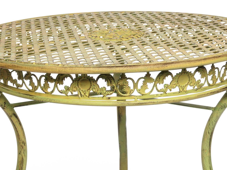 Mobili da giardino in ferro mobili bar tavolo e due for Mobili da giardino in ferro antichi