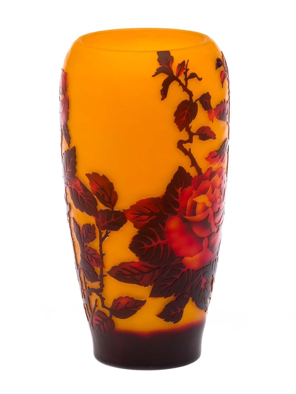 Vaso replica di galle gall vetro copia di stile antico for Vaso galle