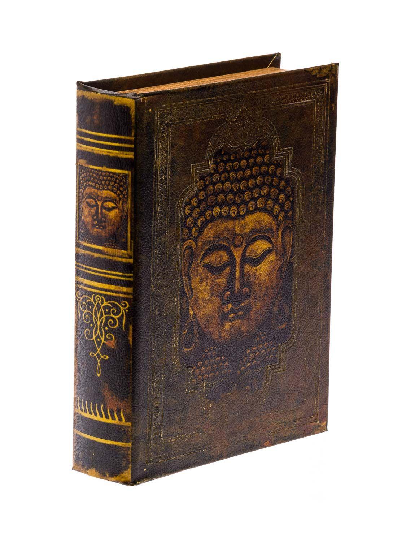 schatulle buddha buchattrappe buch box etui aufbewahrung. Black Bedroom Furniture Sets. Home Design Ideas