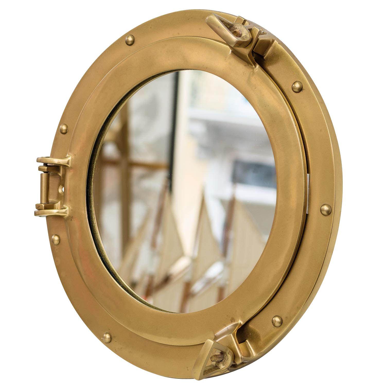 hublot avec miroir bateau ouvert navire d corations