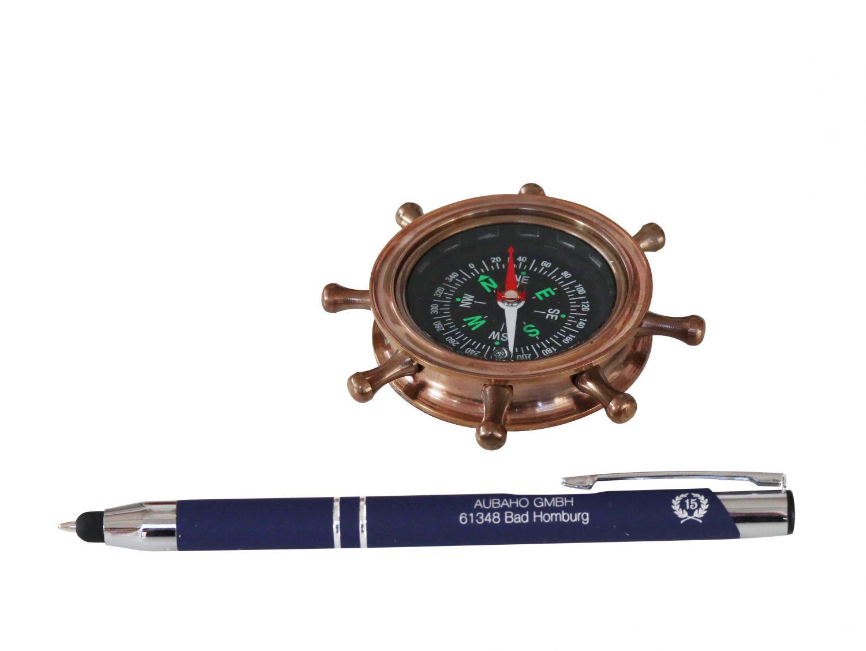 Fl ssigkeit kompass steuerrad maritim dekoration for Dekoration maritim
