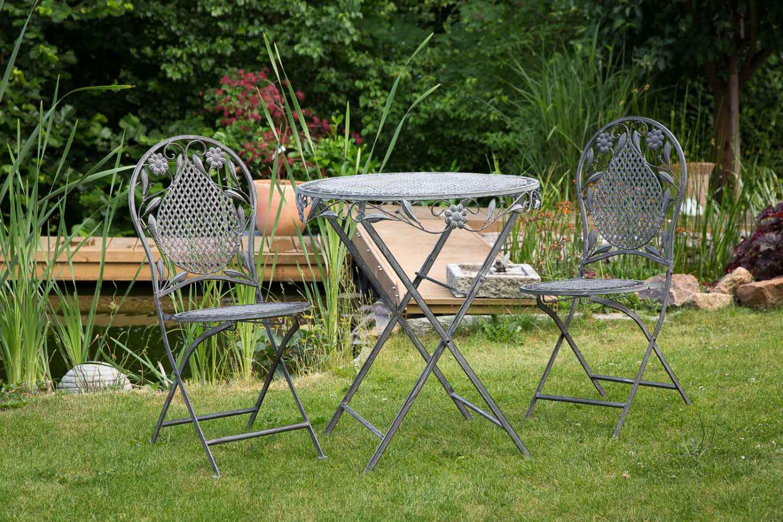 Set da giardino in ferro mobili mobili guarnizione ebay for Mobili da giardino in plastica