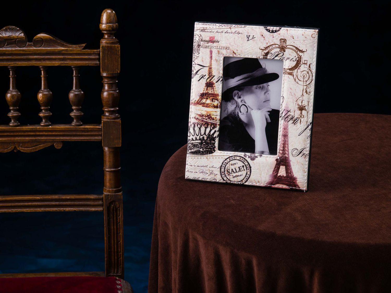 Fotorahmen Bilderrahmen Rahmen hochformat Foto 10x15 cm Urlaub Paris ...
