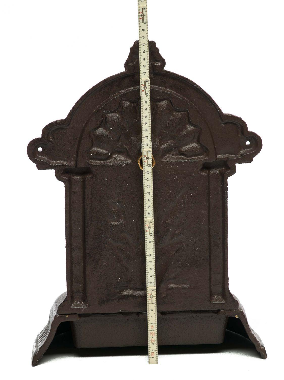 waschbecken brunnen standbrunnen 47cm eisen garten nostalgie stil fountain ebay. Black Bedroom Furniture Sets. Home Design Ideas