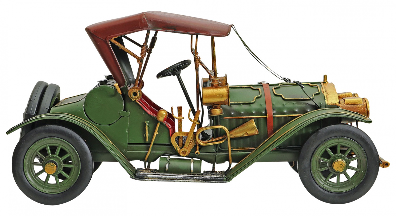 Modellauto Oldtimer Cabrio Automodell Auto Metall Antik-Stil Modell