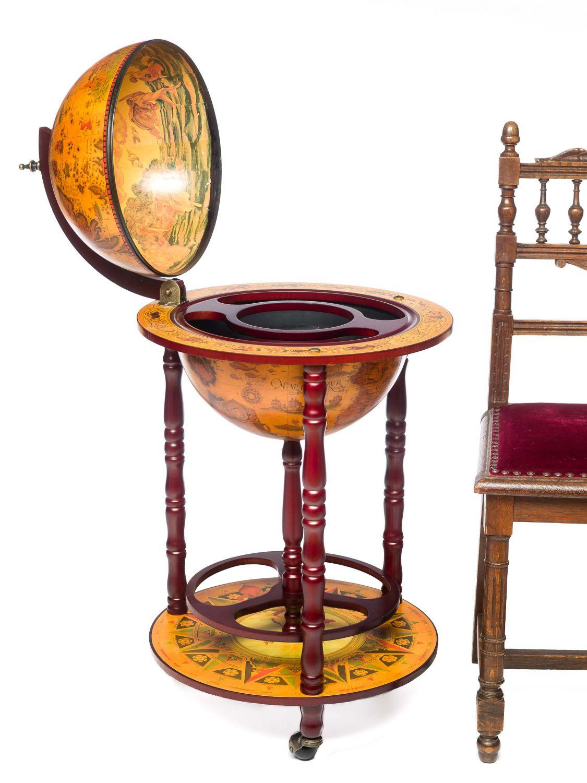 globusbar globus bar hausbar minibar servierwagen. Black Bedroom Furniture Sets. Home Design Ideas