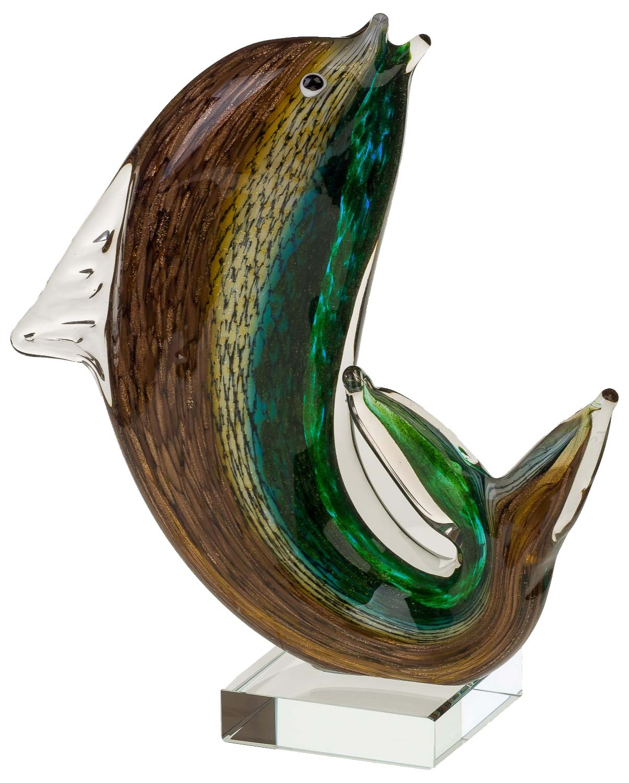 figure poisson sculpture en verre murano style antique murano 25cm ebay. Black Bedroom Furniture Sets. Home Design Ideas