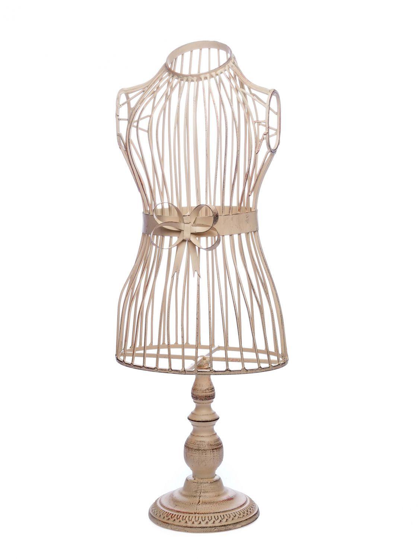 nostalgie schneiderpuppe 65 5cm deko schneiderb ste b ste eisen antik stil ebay. Black Bedroom Furniture Sets. Home Design Ideas
