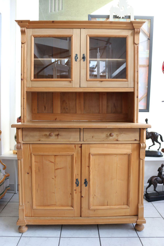 antiker buffetschrank buffet k che k chenbuffet fichte. Black Bedroom Furniture Sets. Home Design Ideas