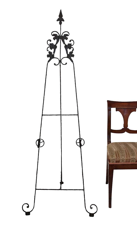 Pinturas de caballete hierro 171cm soportes estilo antiguo - Caballetes de hierro ...