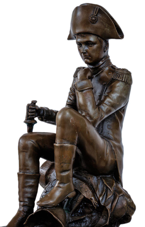 Bronzeskulptur Napoleon nach Canova Bronzefigur Figur Bronze Antik-Stil