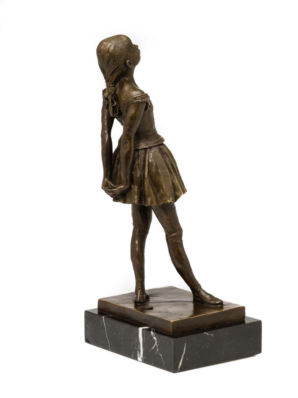 statuette de ballerine imitation degas style ancien bronze ebay. Black Bedroom Furniture Sets. Home Design Ideas
