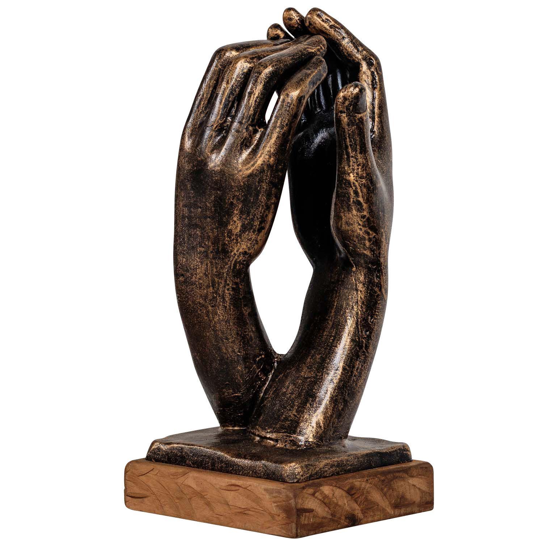 49cm Eisenfigur Hund Jagdhund Figur Skulptur Eisen Antik-Stil
