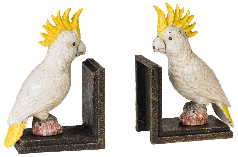 Schale Pflanzschale Vogel Papagei Kakadu Porzellan Antik-Stil 38cm