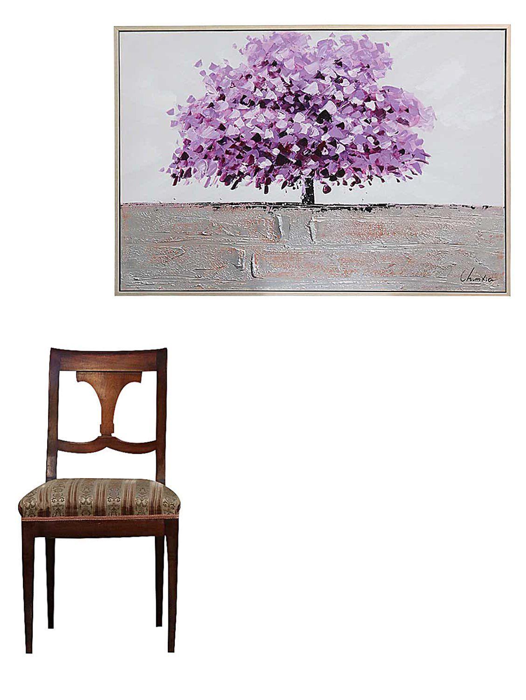 original riesiges gem lde lgem lde baum moderne bild mit. Black Bedroom Furniture Sets. Home Design Ideas