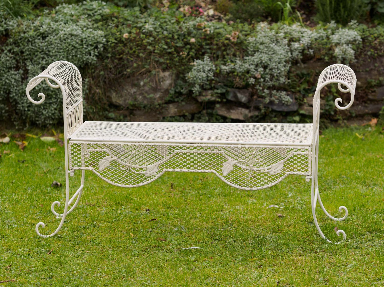 Nostalgia panca da giardino 134 centimetri mobili da giardino panchina di ferro ebay - Ebay mobili da giardino ...