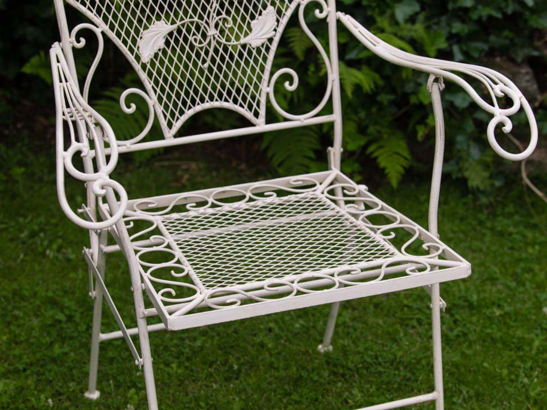 Sedie Da Giardino In Ferro : Nostalgia sedia poltrona da giardino sedia pieghevole in ferro in