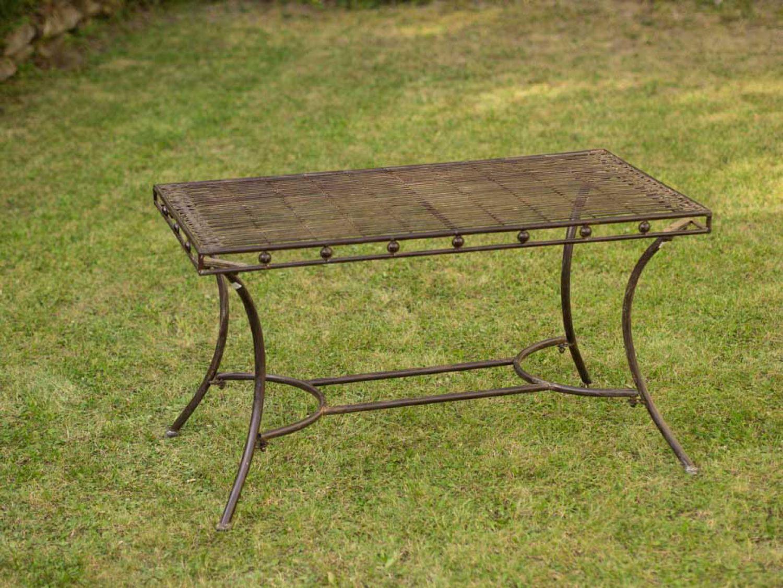 Nostalgia mesa de jard n de hierro mesa de sal n de estilo for Ebay salon de jardin