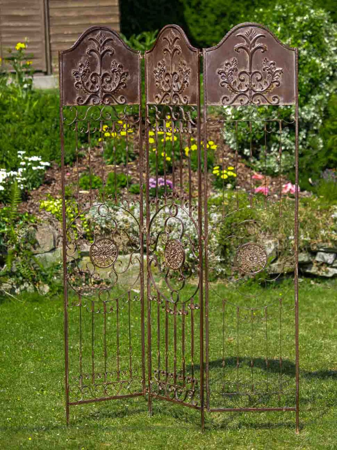 Decorative Screen  Antique Style Trellis  Wrought Iron. Party Decorations Black And Gold. Western Decor Cheap. Decorative Lamps. Home Cabin Decor. Animal Wall Decor. Shabby Chic Decorating. Decorative Bookcases. Heart Decorations Home