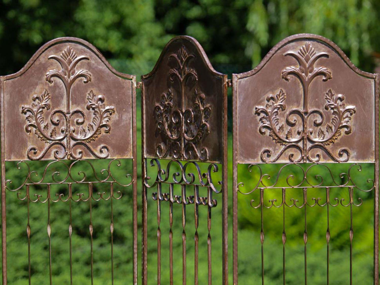 Wrought Iron Wall Trellis: Antique Style Trellis
