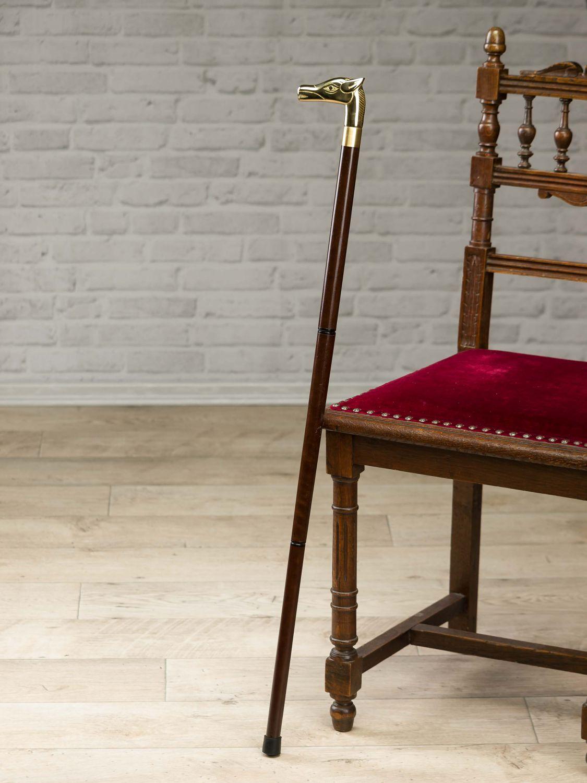 spazierstock aus holz wanderstock pferd gehstock stock flanierstock schnaps glas ebay. Black Bedroom Furniture Sets. Home Design Ideas
