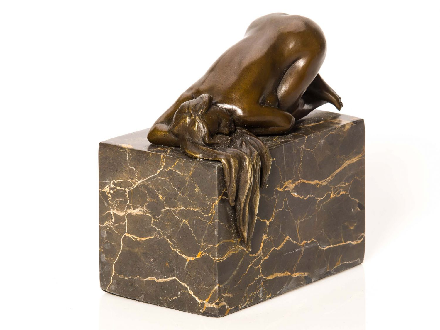 Erotic bronze sculptures