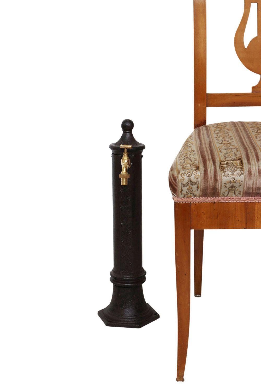 kleiner standbrunnen 49cm alu braun brunnen waschbecken. Black Bedroom Furniture Sets. Home Design Ideas