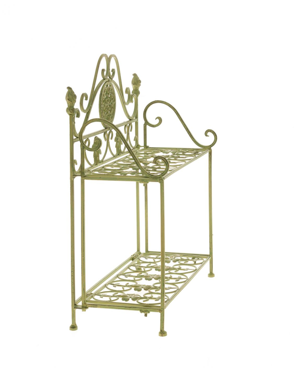 tag re murale jardin tag re de fer armoire plantation ebay. Black Bedroom Furniture Sets. Home Design Ideas