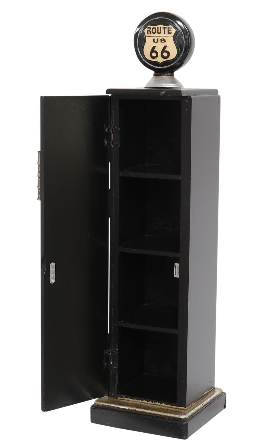 zapfs ule tanks ule 87cm cd regal schrank rack cd st nder route 66 minibar ebay. Black Bedroom Furniture Sets. Home Design Ideas
