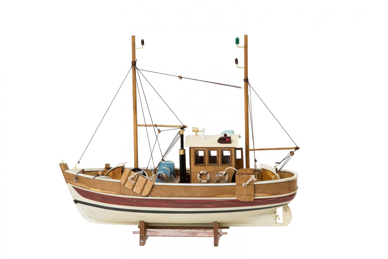 Nautical memorabilia solid model cutter ship fishing for Ebay fishing boats