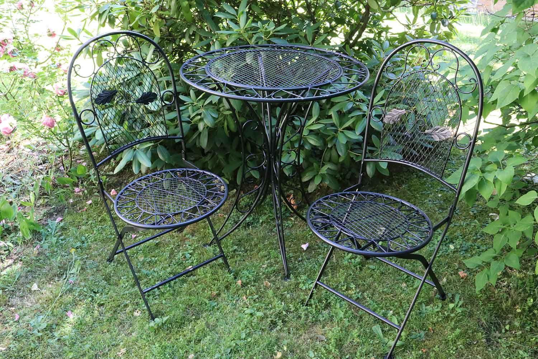 Mobili Da Giardino In Ferro : Mobili da giardino set giardino tavolo e sedie in ferro antico
