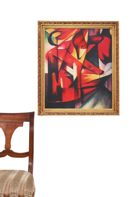 peinture l 39 huile sur toile cadre inclus reproduction. Black Bedroom Furniture Sets. Home Design Ideas