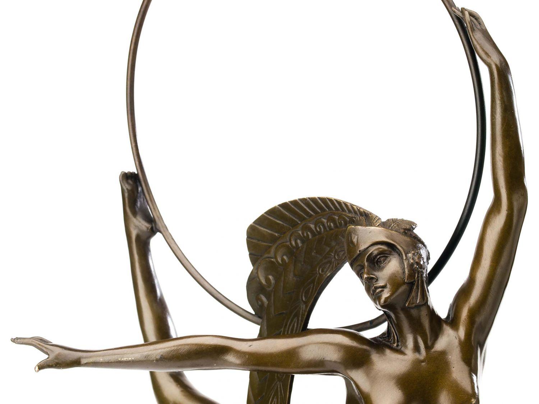 statuette de danseuse style antique art d co bronze 67 cm ebay. Black Bedroom Furniture Sets. Home Design Ideas