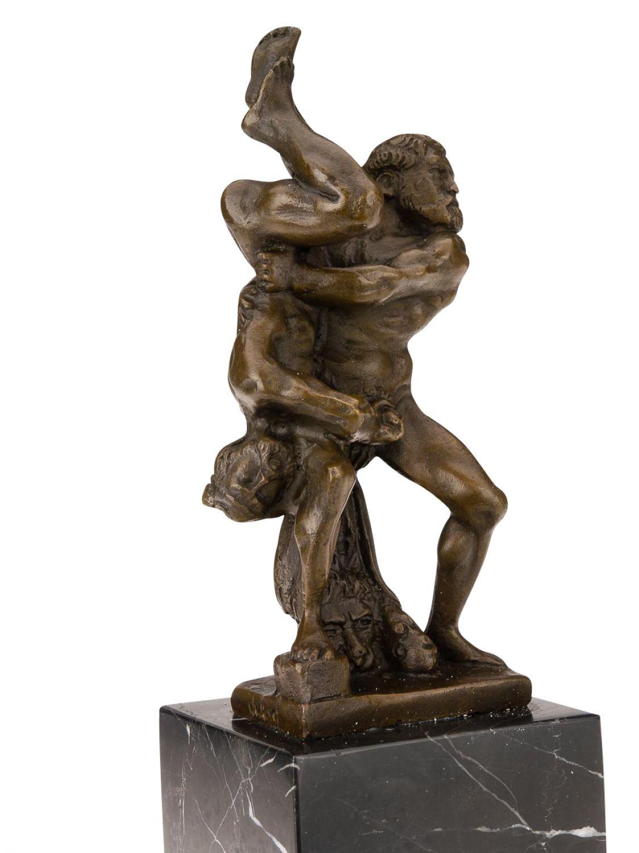 statuette d hercule et de diom de lutteurs bronze 34 cm ebay. Black Bedroom Furniture Sets. Home Design Ideas