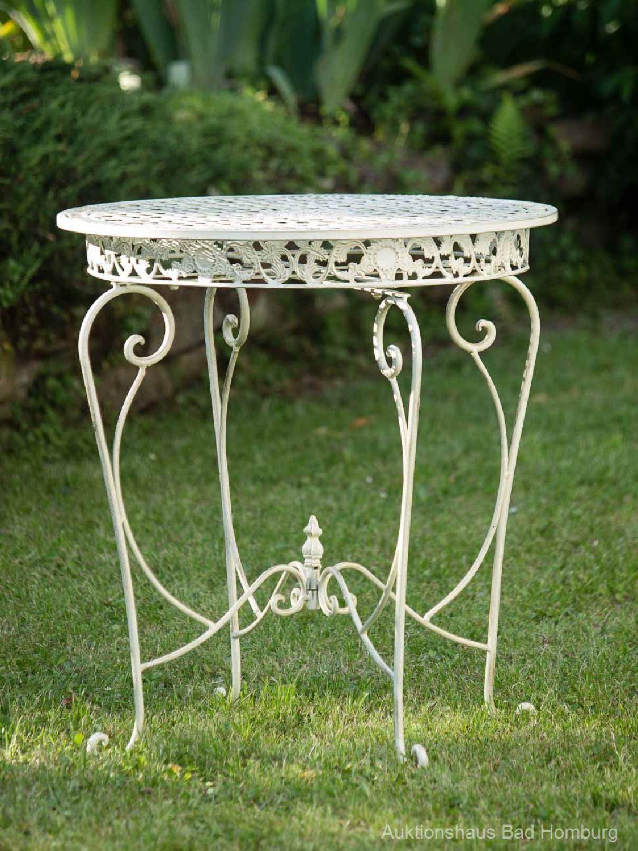 salon de jardin 1 table et 4 chaises fer style antique blanc ebay. Black Bedroom Furniture Sets. Home Design Ideas
