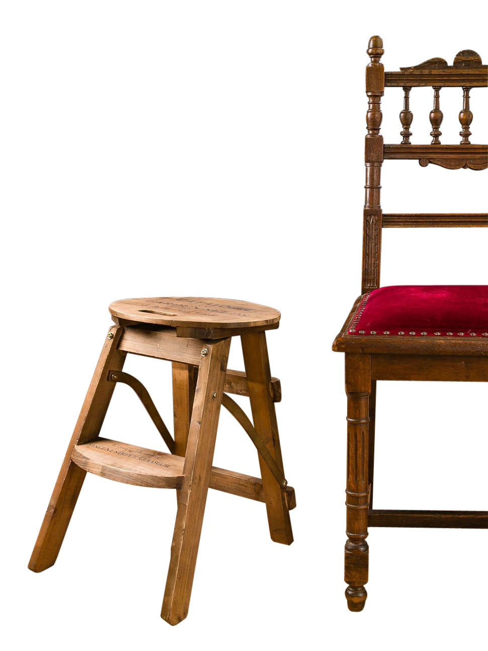 nostalgie blumenhocker holz blumenbank pflanztreppe tisch hocker antik stil ebay. Black Bedroom Furniture Sets. Home Design Ideas