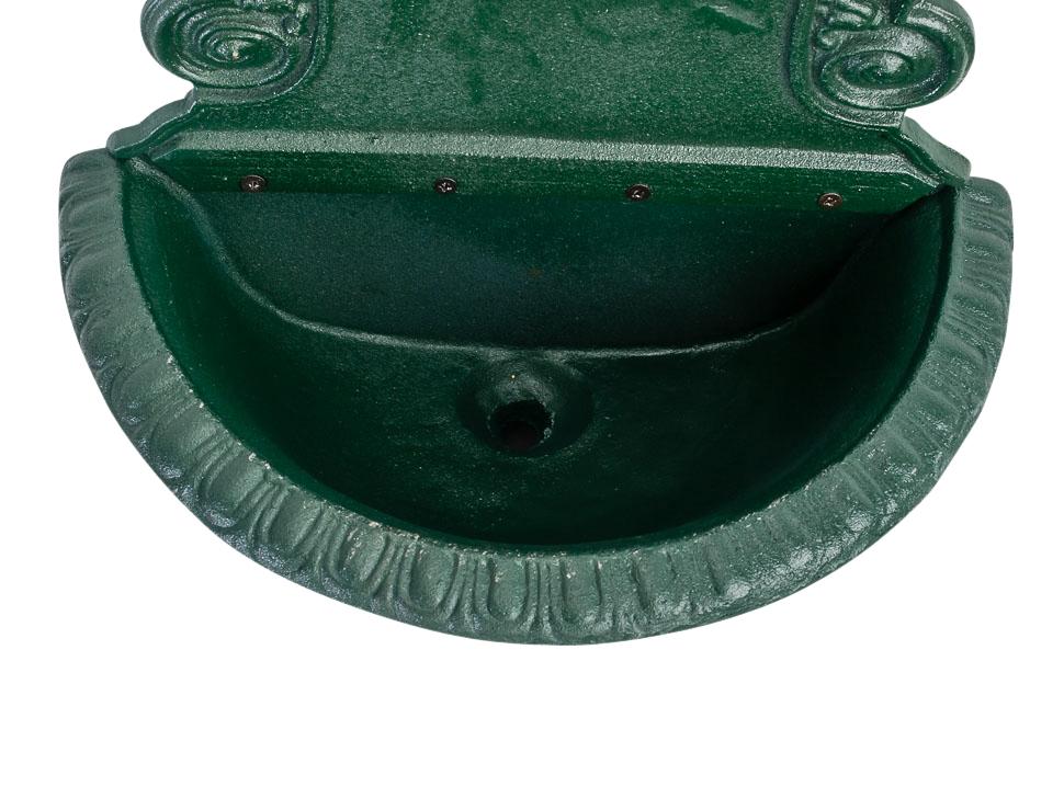 Waschbecken 77cm wandbrunnen garten eisen nostalgie antik for Garten waschbecken antik
