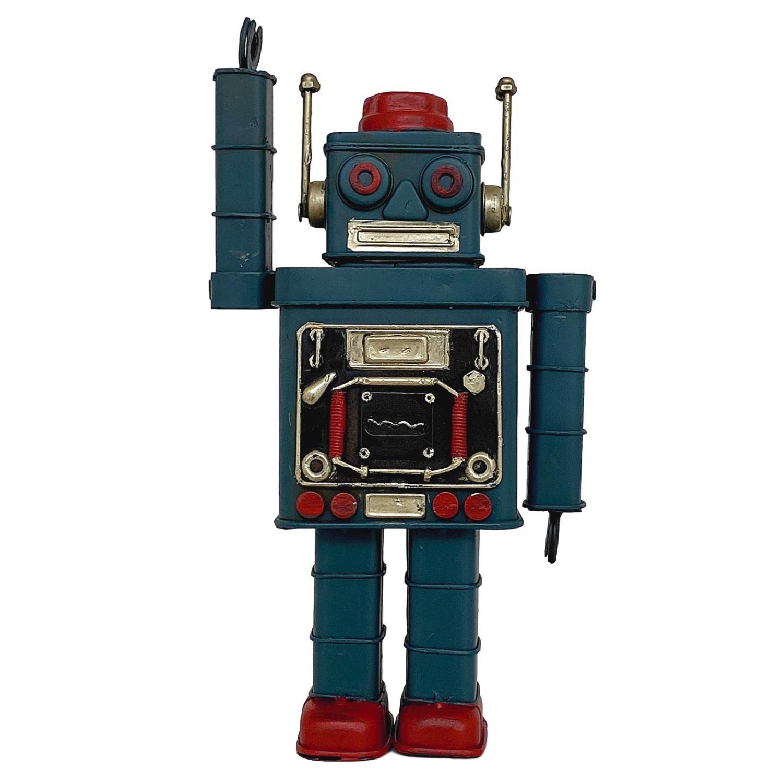 Mighty Robot  Blechschild 20x30 cm 22221 Retro Roboter
